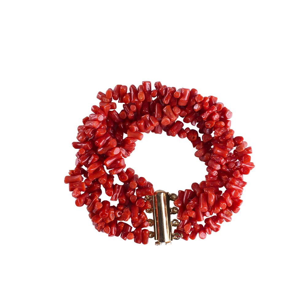 bracciale corallo swami