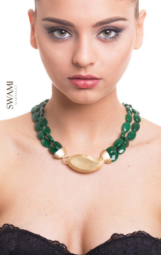 collana pietre swami gioielli