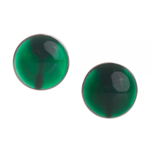 orecchini pietra verde