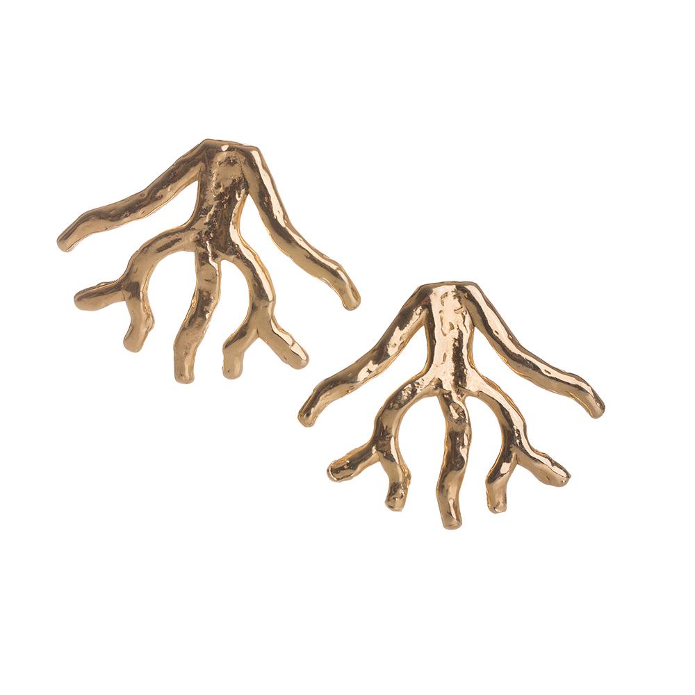 orecchini ramo corallo