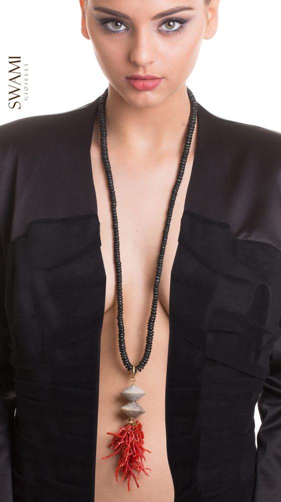 collana corallo swami gioielli