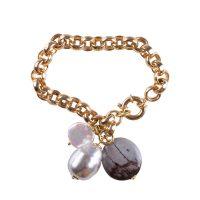 bracciale perle swami