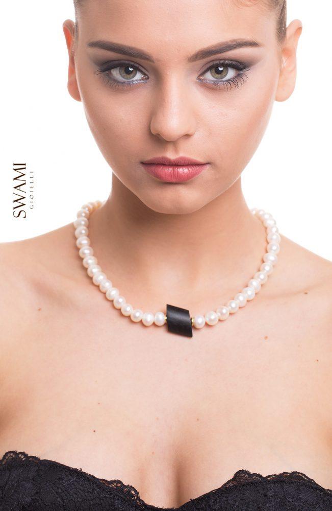 collana ebano swami gioielli