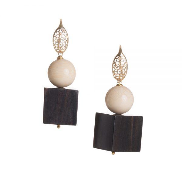 orecchini ebano gioielli